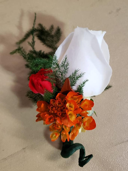 Boutonnieres - Fresh or Artificial