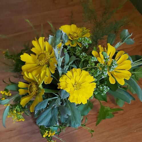 Sunshine Herb Bouquet