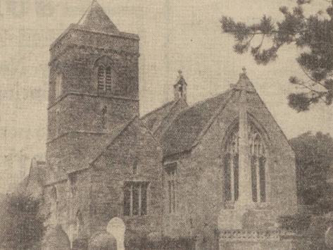 Somerset Church Fire Mystery