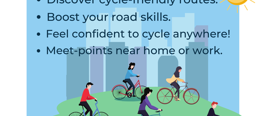 Free cycling training for adults