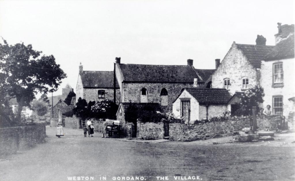 Village street C.1920s