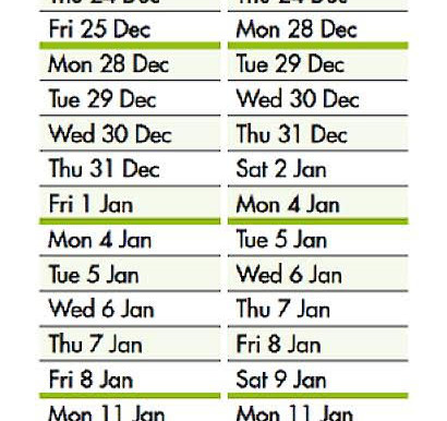 Recycling and waste festive update
