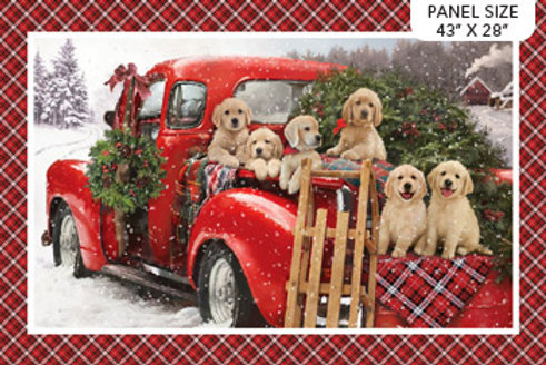 Northcott Fabric Santa's Helpers DP23537-24