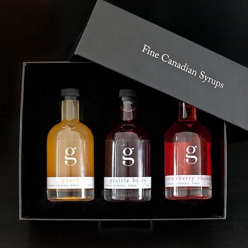 Brunch/Cocktail Syrup Set
