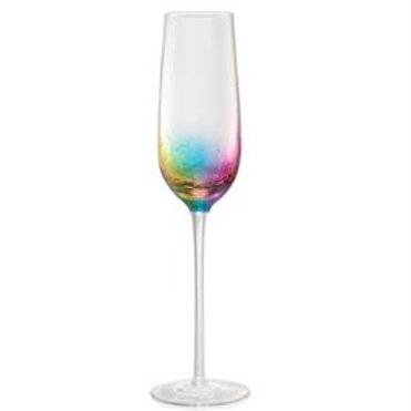 CRACKLE Champagne Flute