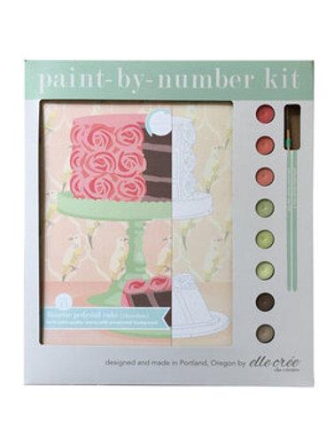 Numbers Kit - Rosette Pedestal Cake, Chocolate or Lemon