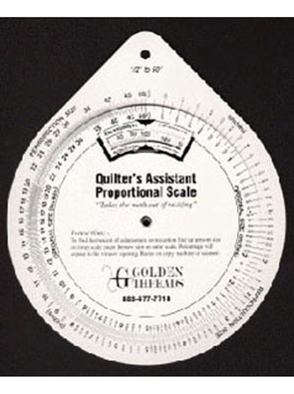 Quilters Assistant, Proportional Scale - Notions