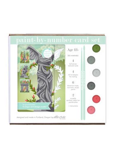 Paint by Numbers Card Set Kit - La Parisienne
