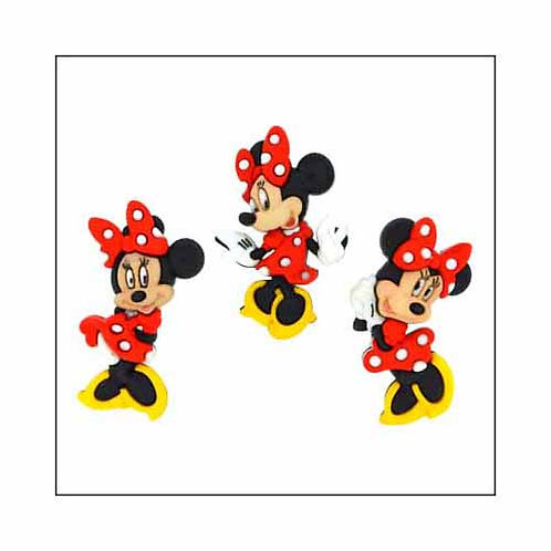 Minnie Mouse - Buttons - Notions