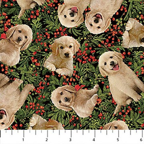 Northcott Fabric Santa's Helpers DP23540-76