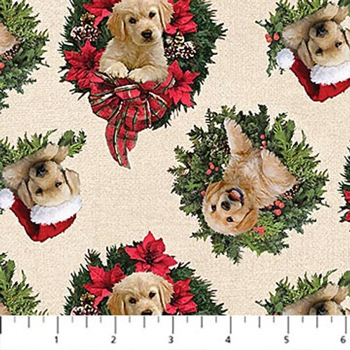 Northcott Fabric Santa's Helpers DP23539-11