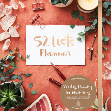 52 Lists Planner - Moorea Seal