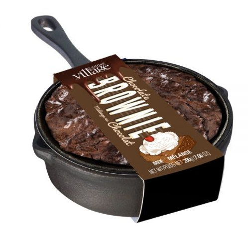 The Chocolate Brownie Skillet