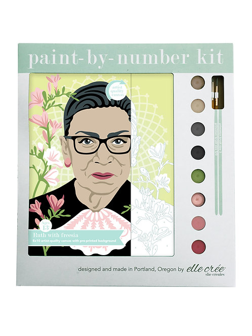 Paint by Numbers Kit - Ruth with Freesia
