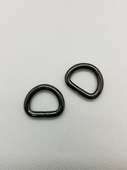 15mm D Rings - A Little Swag For Your Bag - Gold, Black