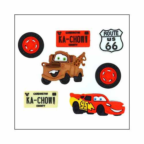 Disney Cars - Buttons - Notions