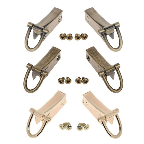 "Side Strap Clips 1.75"" - A Little Swag For Your Bag - Black, Gold, Silver"