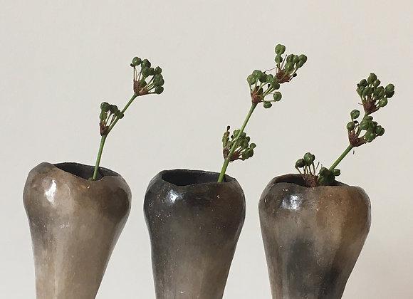 Heathland - series 1 - Set of three small vases