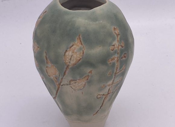 Imperfectly perfect - bud vase  hedgerow