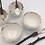 Thumbnail: Salt and Pepper Bowls and Spoons made to order