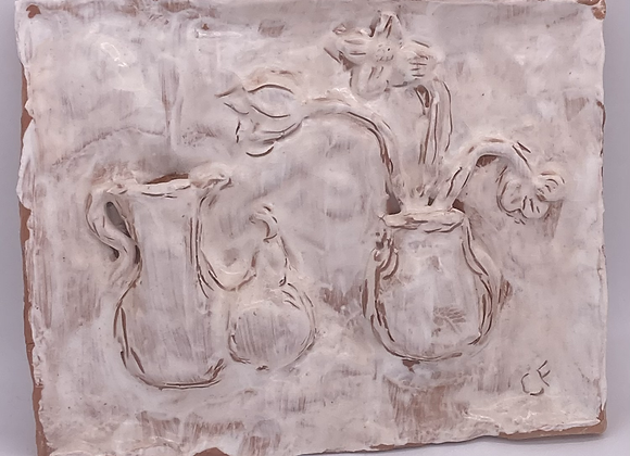 Still Life - White Wash Tile