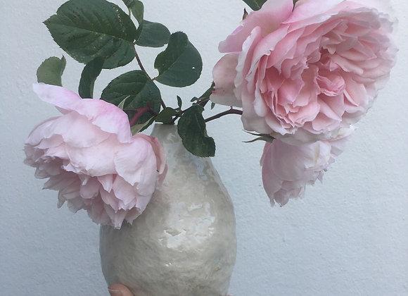 Raphia farinifera Pod Vase