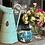 Thumbnail: Large Raku Pot/ Candle Holder/ Flower Display