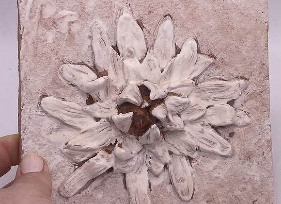 In Bloom - flower tile