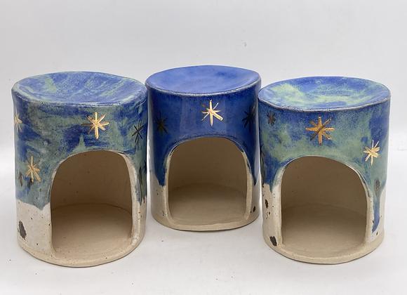 SECONDS - starry night wax burners