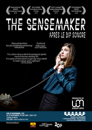'The Sensemaker' at the Théâtre de la Parfumerie