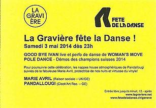 Woman's Move danse dance Genève Fluo Party Elsa Couvreur Margaux Monetti Iona D'Annunzio