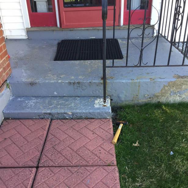 Exterior Paint/Pole Replace