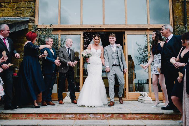 Nichole & Daniel's Rustic Spring Barn Wedding