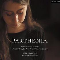 Catalina Vicens - Parthenia, English Harpsichord Music Recording