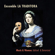 Catalina Vicens Recordings: Ensemble La Traditora - Music & Women. Chemin, Ferré, Vicens