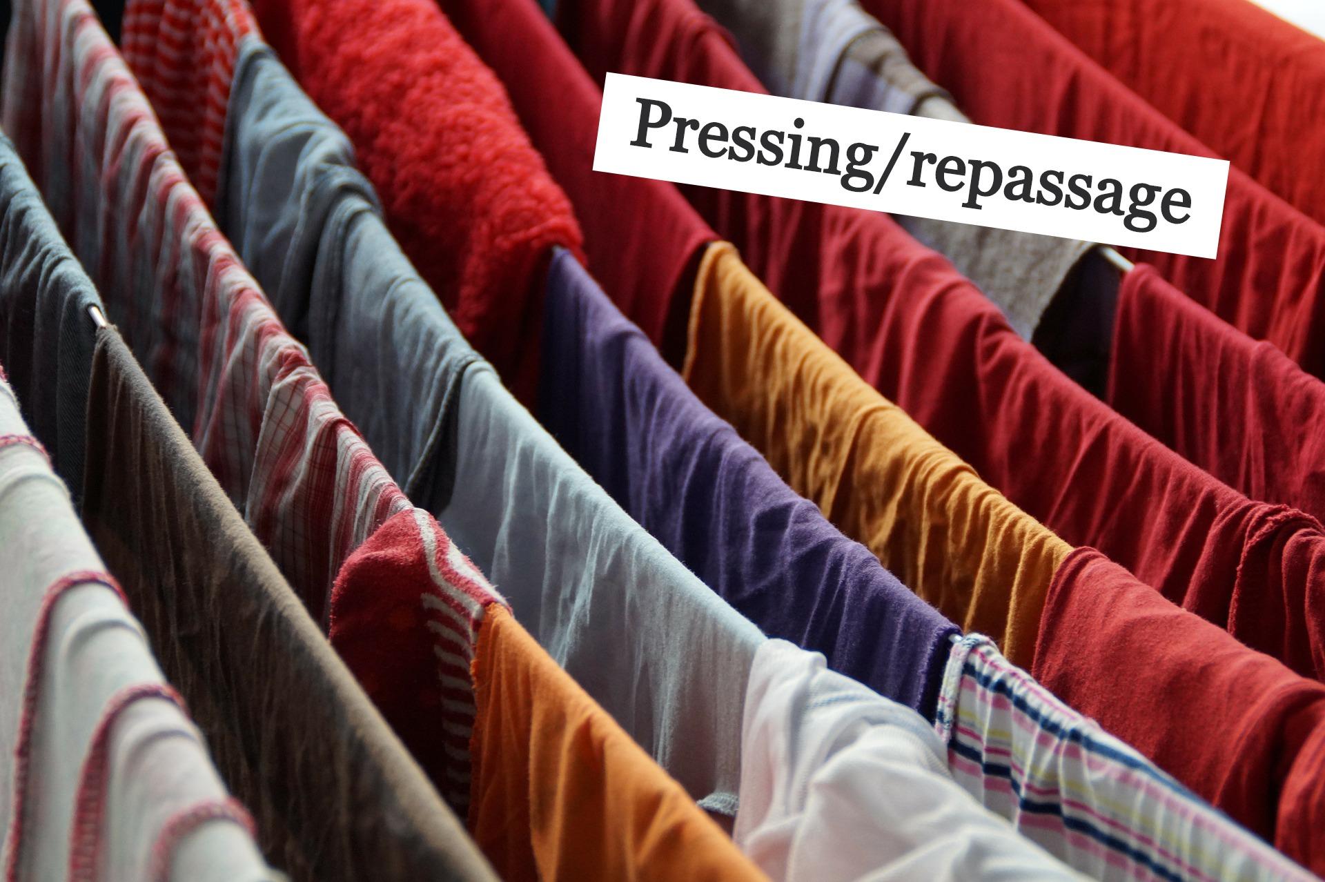 Pressing/repassage