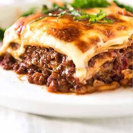 Beef Lasagna From Tabrizi's Restaurant