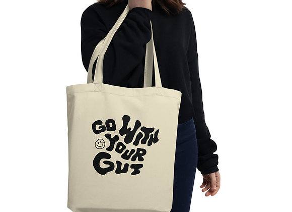 Go With Your Gut Tote Bag