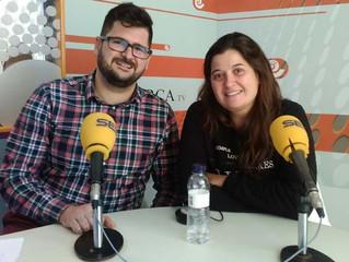 Nos entrevistan en la radio!!!