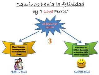 """Caminos hacia la felicidad, by """"I Love Perros: nº 3"""