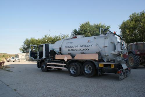Servicio de limpieza de fosas sépticas y redes de alcantarillado
