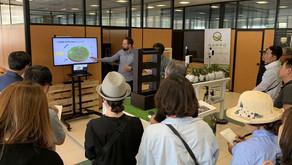 QAMPO muestra sus ensayos con Itacyl a una delegación de profesionales agrarios de Corea del Sur