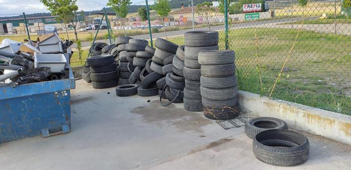 Servicio de recogida de neumáticos