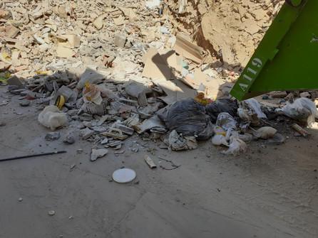 Servicio de recogida de escombros, enseres y podas
