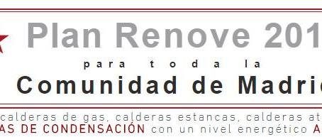 PLAN RENOVE MADRID 2018