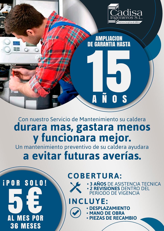 AMPLIACION DE GARANTIA 15 AÑOS - 12-03-2