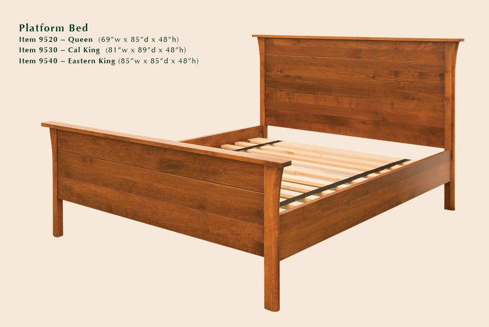 Cascadia Platform Bed