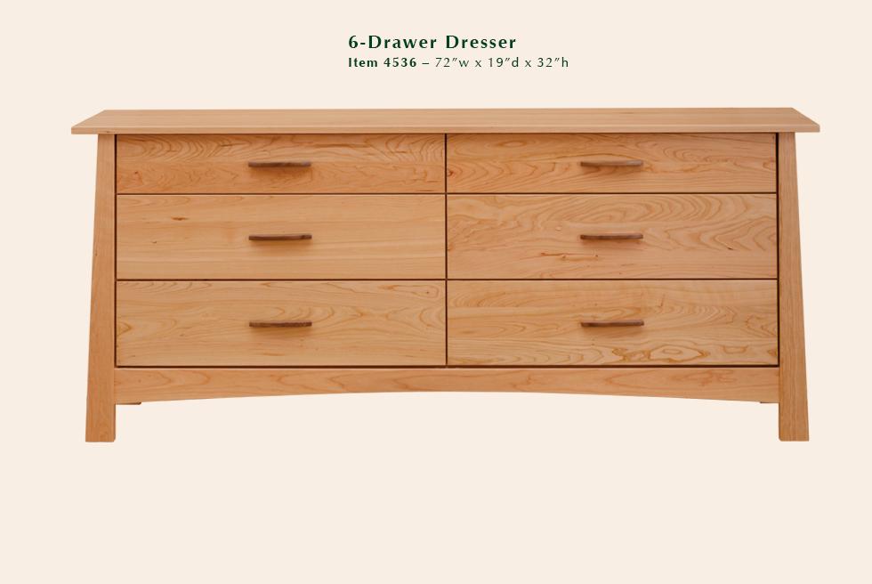 4536 Reflections 6dr dresser