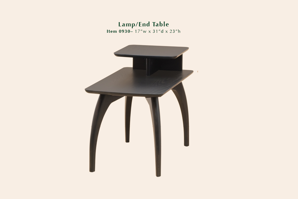 0930 Tibro lamp end table