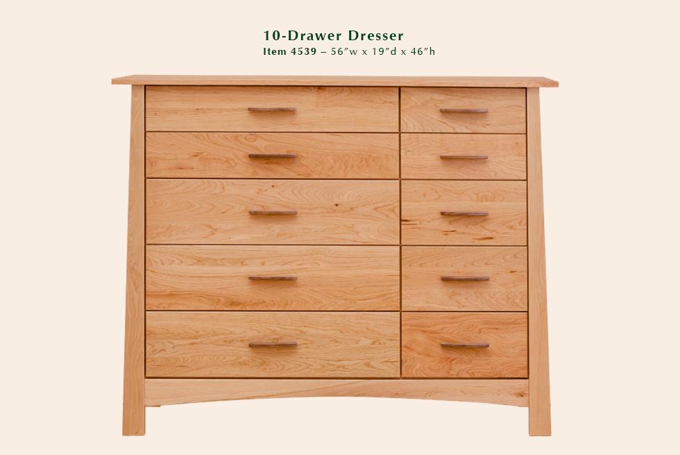 4539 Reflections 10dr dresser
